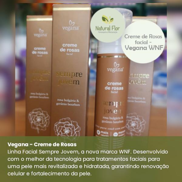 Creme de Rosas Vegana